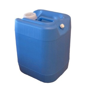 5 gallon blue poly water cube, stackable
