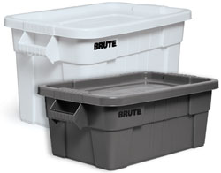 Rubbermaid plastic totes