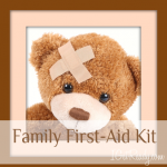 Evacuating your home 101 – Box 7- Family First-Aid Kit