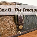 Evacuating your Home 101 – Box 13 – The Treasures