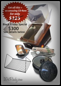 Sun Oven Black Friday Deal