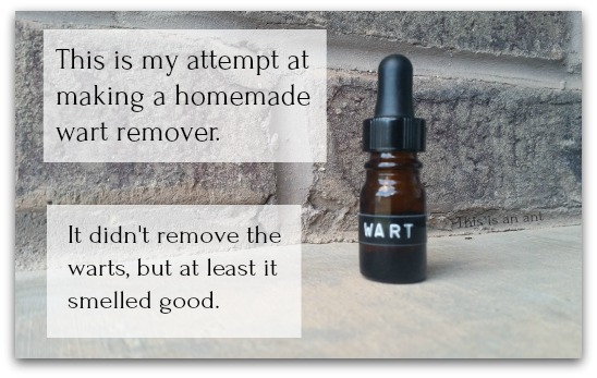Wart remover, ward remedy that works, true love skin care, Essential Oil wart remover, wart remedy fail